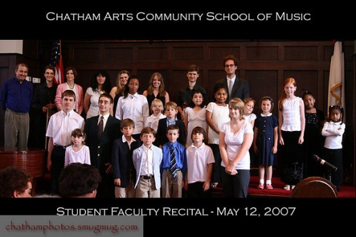 Chatham Arts Community Music School Concert, May 2007