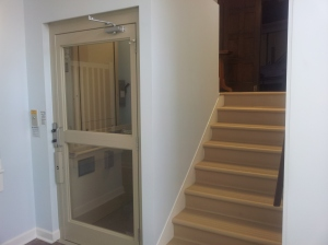 New lift makes our sanctuary accessible to those with mobility difficulties.