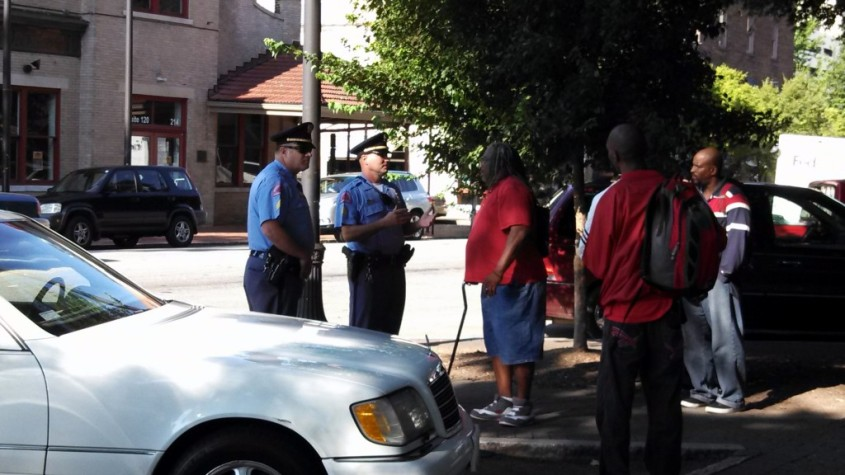 Raleigh police stop food distribution to the homeless by a local group who has been doing this for years.